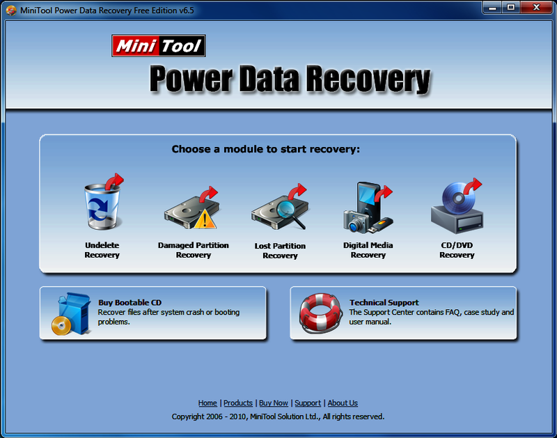 MiniTool Power Data Recovery 8.8 Crack + Serial Key 2020 Full Version