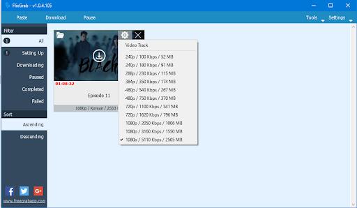 FlixGrab Crack + Premium Version 5.1.2.925 [Latest ]